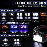 Immagine 2 lampada frontale 2 pezzi sensore