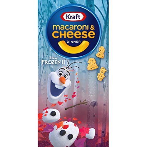 Kraft Frozen II Shapes Macaroni and Cheese Meal 55 oz Box