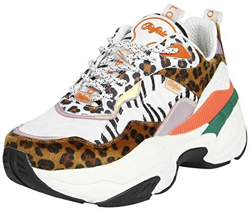 Buffalo Fierce P1, Zapatillas Altas Mujer, Multicolor (Multi...