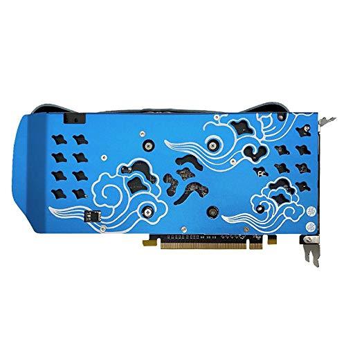 GUOJIAYI Yeston Radeon RX 580 GPU 8GB GDDR5 256bit Gaming Desktop Computer PC Video Grafikkarten Unterstützung DVI/HDMI PCI-E X16 3.0