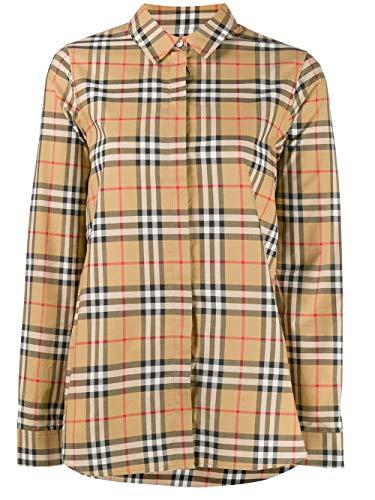 BURBERRY Luxury Fashion Damen 8014010 Beige Baumwolle Hemd | Jahreszeit Permanent
