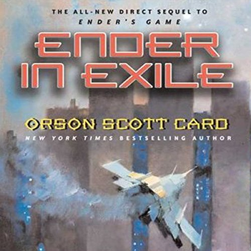 Ender in Exile audiobook cover art
