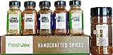 FreshJax Premium Gourmet Organic Spices and Seasonings, Gift Box (Set of 6) (BBQ & Grill Lovers)