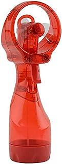 Iswell Ventilador portátil con botella de rociado de agua Ventilador pequeño portátil de mano Ventilador portátil de agua pulverizadora