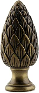 Solid Brass Pine Cone Lamp Shade Finial 2.25