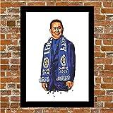 Leicester City – Vichai Srivaddhanaprabha Kunstdruck,