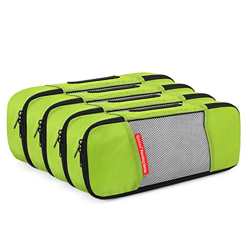 Gonex Packing Cubes Travel Luggage Organizers Mesh for Packing Suicase