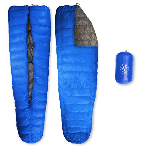Outdoor Vitals LoftTek 30 Degree Ultralight Backpacking TopQuilt For Hammock