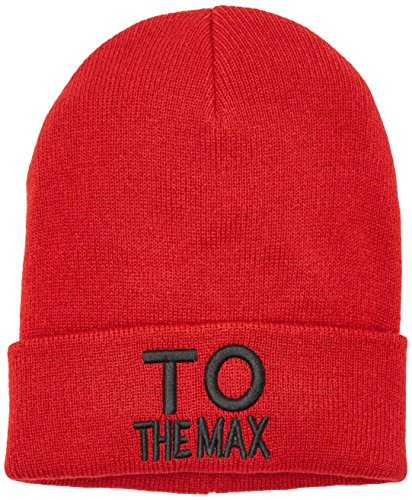 ONLY Damen onlTHE MAX Knit Beanie Acc Strickmütze, Rot (Tango Red Tango Red), One Size