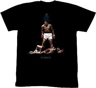 تيشيرت للبالغين مطبوع عليه Muhammad Ali All Over Again