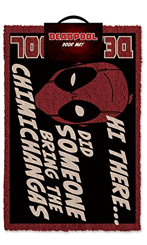Pyramid International - Felpudo Con Frase De Deadpool
