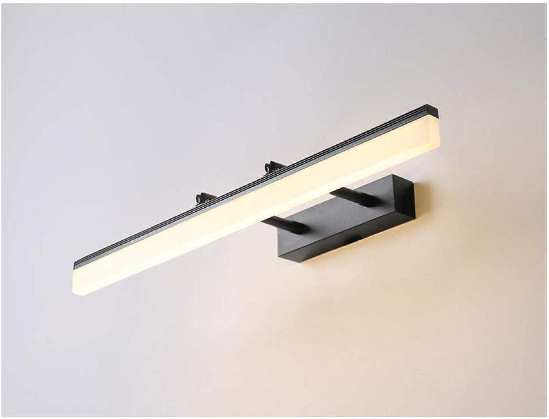 LZQQ Spiegelleuchte, Led Einfache Moderne Badezimmer Make-Up Schminktisch Spiegelschrank Licht
