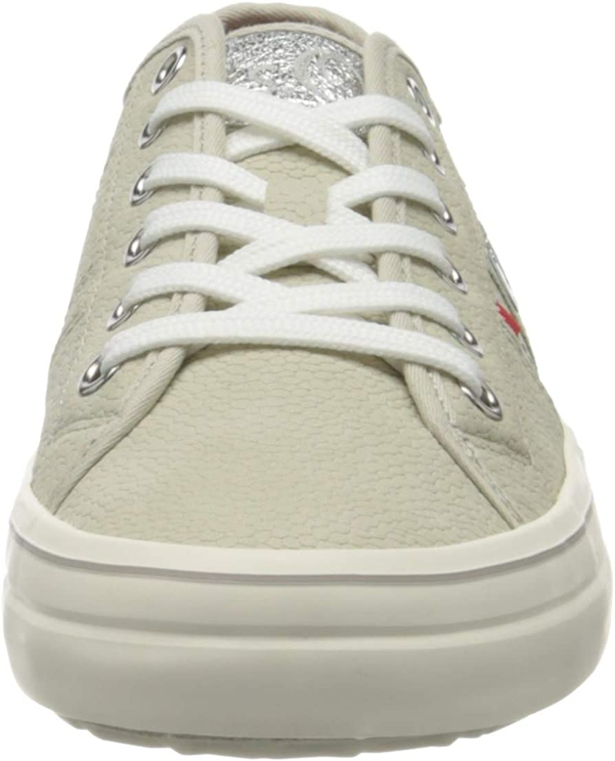 s.Oliver Women's 5-5-23640-24 Low-Top Sneakers Grey Lt Grey Struc 219 fX4BN5