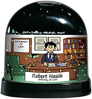 Printed Perfection Personalized Gifts Attorney Lawyer Male Ntt