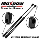 Maxpow 2pcs Rear Window Gas Charged Lift Support Compatible With Jeep Liberty 2002-2007 4365