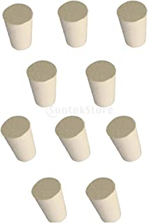 6 33x25x28mm 13 Sizes Optional 000#-10# Rubber Stoppers H HILABEE 5 Pack 13 Assorted Sizes