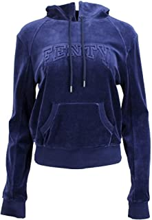 Womens x Fenty by Rihanna Velour Fitted Pullover