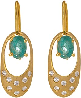Gehna Yellow Gold, Jhumki Earrings for Women
