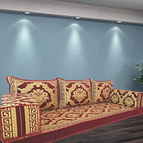 Spirit Home Interiors SHI_FS388 - Funda para cojín de suelo, diseño árabe oriental