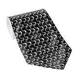 Men's Classic Necktie Chainmail Neck Armour Neckties Men's Tie