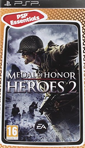 Electronic Arts Medal of Honor Heroes 2 Essentials, PSP - Juego (PSP, PlayStation Portable (PSP), Tirador, T (Teen))
