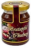 Altenburger Original Senfonie Premium Bratapfel Chutney, 160g im Glas, weihnachtlich-fruchtig mit Apfelstücken und winterlichen Gewürz