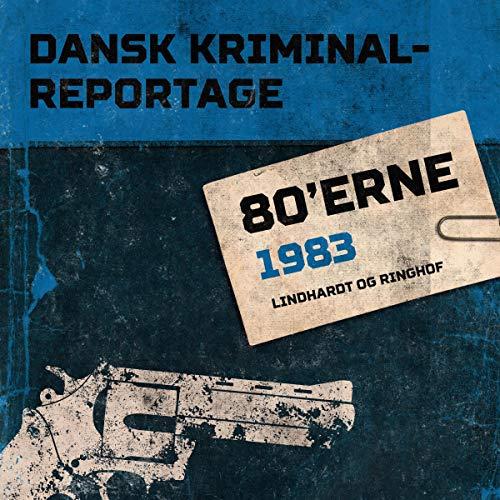 Page de couverture de Dansk Kriminalreportage 1983