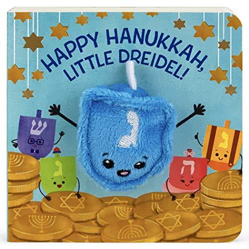 Happy Hanukkah, Little Dreidel (Finger Puppet Board Book) (Children's Interactive Finger Puppet Board Book)