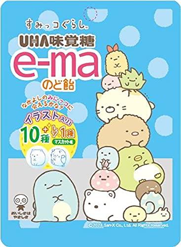 UHA味覚糖 e-maのど飴 すみっコぐらし 38g ×6個