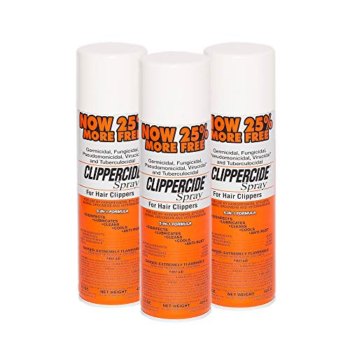 Clippercide Disinfectant Spray 15 Ounce Size (3 Pack)