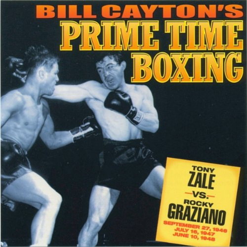 Tony Zale vs. Rocky Graziano audiobook cover art