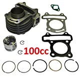 100cc Big Bore Kit GY6 49CC 50CC 139QMB Moped Scooter Engine 50mm Bore Upgrade Set Cylinder Only