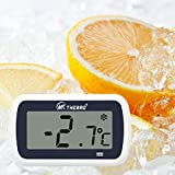 Mini-Kühlschrank Kühlschrank-Thermometer, Digital-Freezer Thermometer Wasserdichtes...