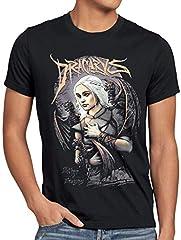 style3 Madre de Dragones Camiseta para Hombre T-Shirt Thrones Stark Daenerys Targaryen Game