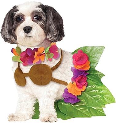 Rubie's Hula Girl Pet Costume, Large