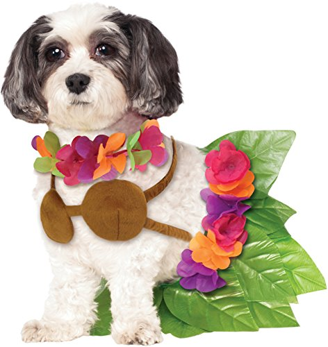 Rubie's Hula Girl Pet Costume, Extra-Large