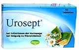 Urosept, 60 Tabletten - bei Blasenentzündung, für die Nieren, harntreibend, entzündungshemmend, bei Neigung zu Nierensteinen, unzureichender...