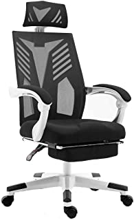 Mesh Office Computer Chair Executive High Back Work with Retractable Footrest