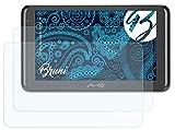 Bruni Schutzfolie kompatibel mit Mio Spirit 8670/8500 LM Folie, glasklare Bildschirmschutzfolie (2X)