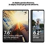 "Samsung Galaxy Z Fold2 5G Smartphone, Display ext.6.2"" Super AMOLED / int. 7.6"" Dynamic AMOLED 2x, 256GB, RAM 12GB, Batteria 4500 mAh, 5G, NanoSIM, Android 10, Mystic Black, [Versione Italiana] 2020 Img 1 Zoom"
