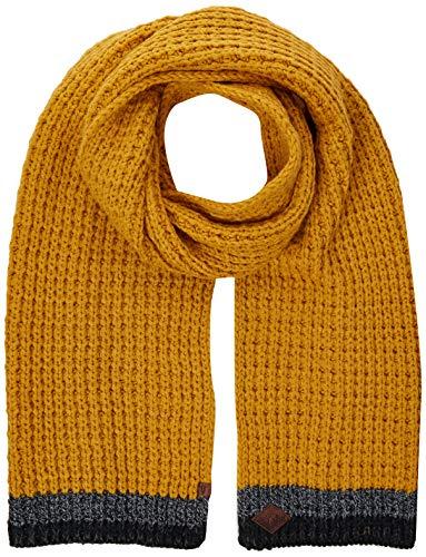 camel active Herren 407350/2V35 Schal, Gelb (Yellow 62), One Size (Herstellergröße: OS)