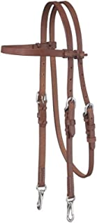 Tough-1 Harness Browband Headstall w/Snap Ends