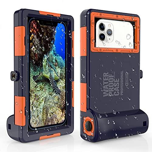 Funda impermeable Móvil IPX8 15M,Bolsa para Móvil Estanca a Prueba de Agua para iPhone 7 7 Plus 8 8+ X Xs Max XR 11 11 Pro 11 Pro Max 12 12 mini 12 Samsung Galaxy S9 S9+ S10 S10+ S10e Note 8 9 10 10