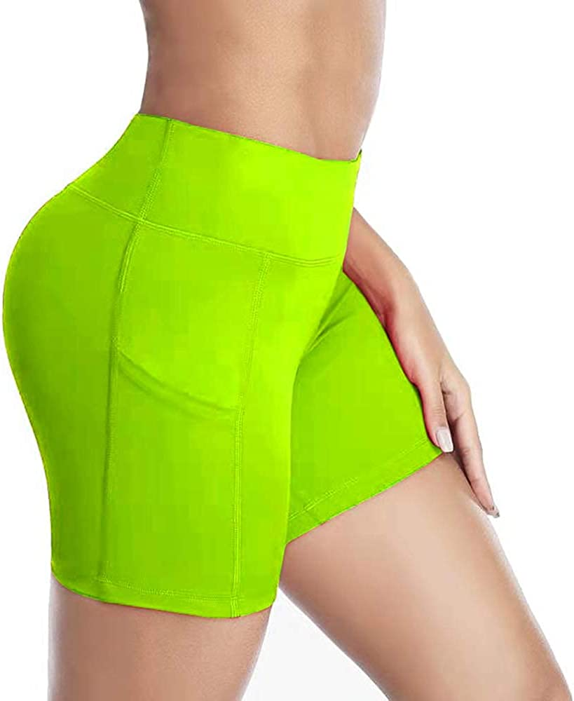 Womens OFFicial shop Yoga Ranking TOP6 Shorts High Waist Bicy Workout Biker Active Exercise