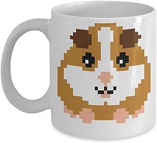 Retro Pixel Guinea Pig Mug Gamer Gift Gaming Cavy Kids Boys Girls