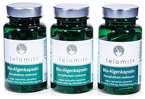t e l o m i t ® Bio-Algenkapseln 3 x 60 Kapseln Vorteilsangebot