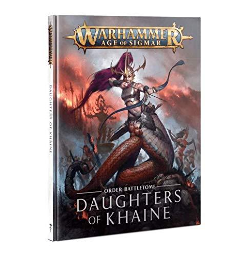 Games Workshop Warhammer Age of Sigmar Battletome Daughters of Khaine Book