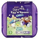 Conchiglia di latte con un cucchiaio di uovo al cioccolato 'N' Oreo 128g