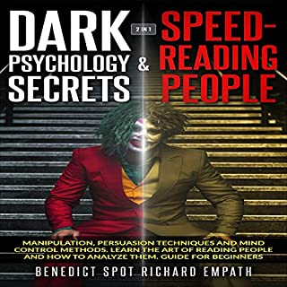 Dark Psychology Secrets & Speed-Reading People: 2 in 1 cover art