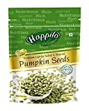 Happilo Premium Pumpkin Seeds - Roasted, Lightly Salted Pouch, 2 X 200 g